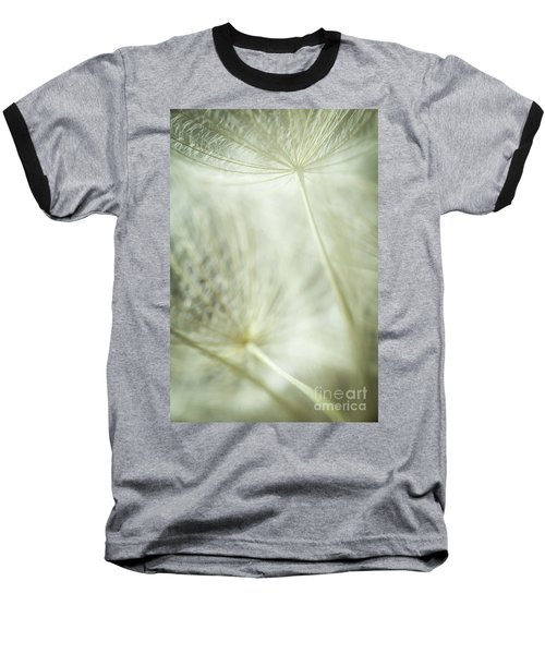 Tender Dandelion Baseball T-Shirt by Iris Greenwell