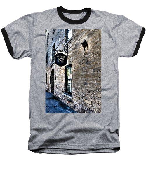 Mendon Town Hall Baseball T-Shirt
