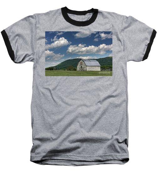 Tennessee Barn Quilt Baseball T-Shirt