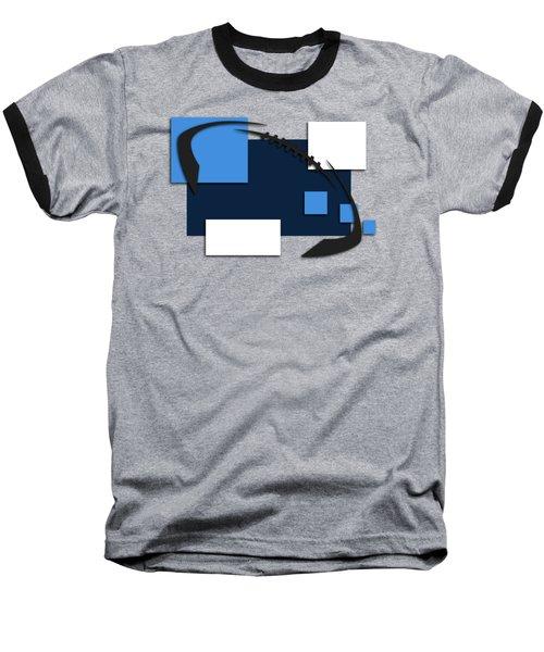 Tennessee Titans Abstract Shirt Baseball T-Shirt by Joe Hamilton