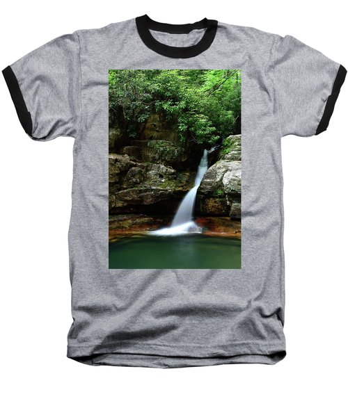 Tennessee's Blue Hole Falls Baseball T-Shirt