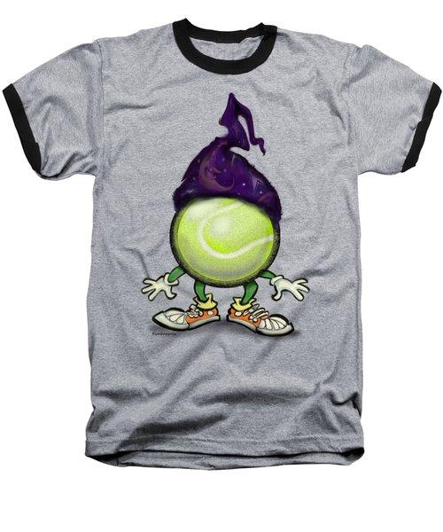 Tennis Wiz Baseball T-Shirt