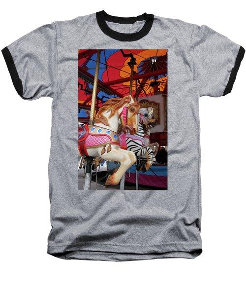 Tented Carousel Baseball T-Shirt