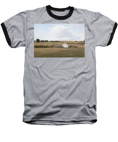 Tents At Fort Laramie National Historic Site In Goshen County Baseball T-Shirt by Carol M Highsmith