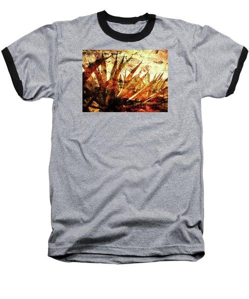Tequila Field Baseball T-Shirt by J- J- Espinoza