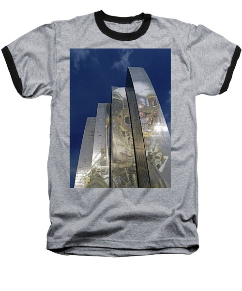 Baseball T-Shirt featuring the photograph Termination by Christopher McKenzie