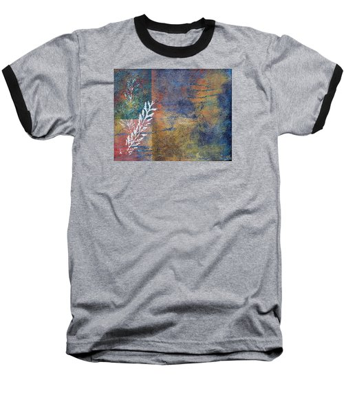 Terra Firma Baseball T-Shirt by Theresa Marie Johnson