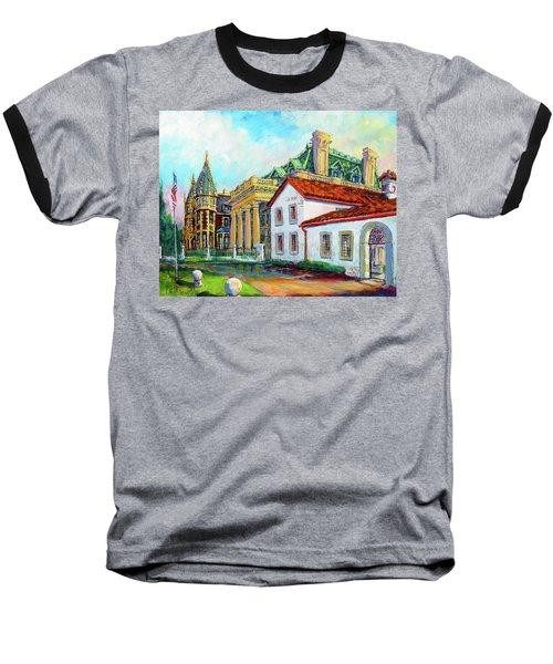 Terrace Villas Baseball T-Shirt by Les Leffingwell