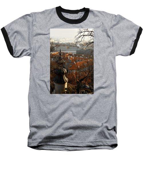 Terracotta Crowns Baseball T-Shirt