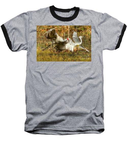 Territorial Dispute Baseball T-Shirt