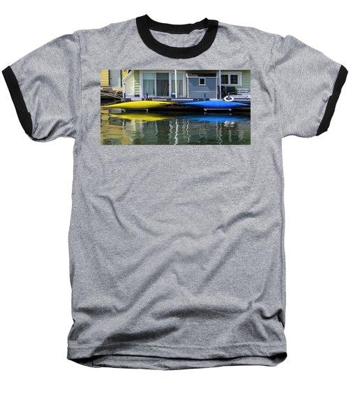 Marina Living In Victoria British Columbia 2to1 Baseball T-Shirt by Ben and Raisa Gertsberg