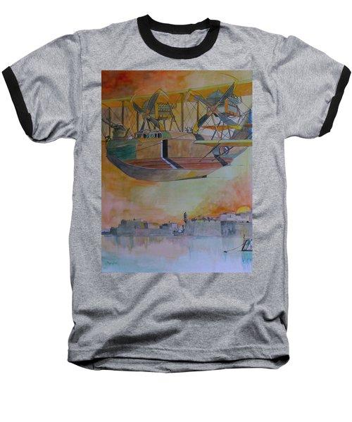 Test Flight Baseball T-Shirt by Ray Agius