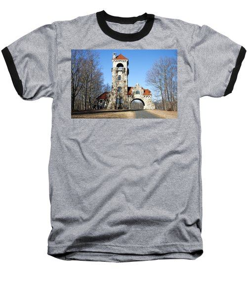 Testimonial Gateway Tower #1 Baseball T-Shirt by Jeff Severson