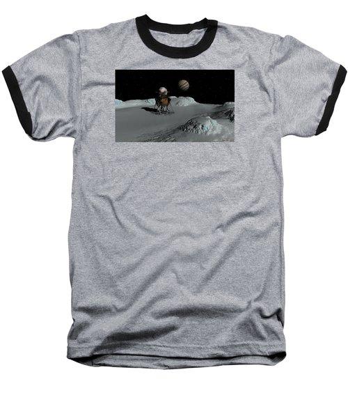 Testing The Waters Baseball T-Shirt by David Robinson