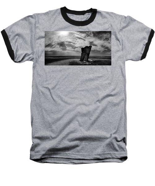 Teter Rock Hill Top View Baseball T-Shirt