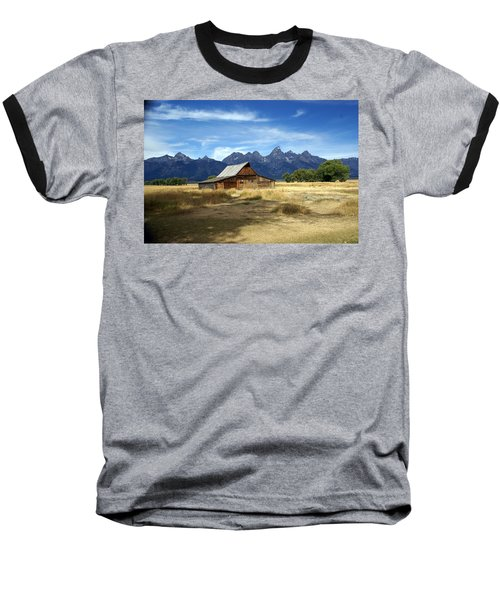 Teton Barn 3 Baseball T-Shirt