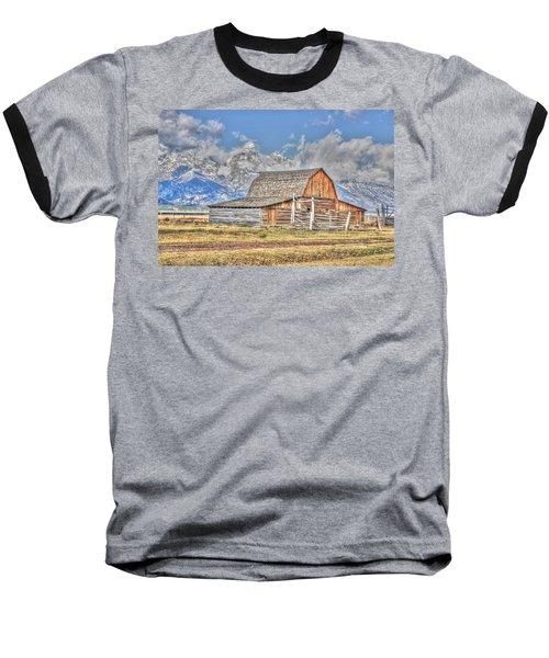 Teton Barn Baseball T-Shirt