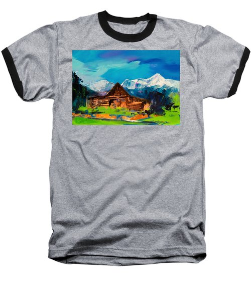 Teton Barn  Baseball T-Shirt