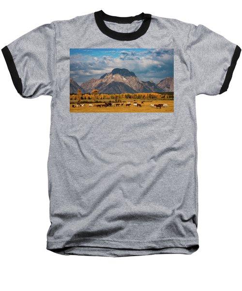 Teton Horse Ranch Baseball T-Shirt
