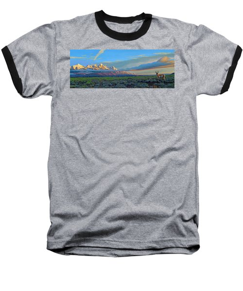 Teton Morning Baseball T-Shirt