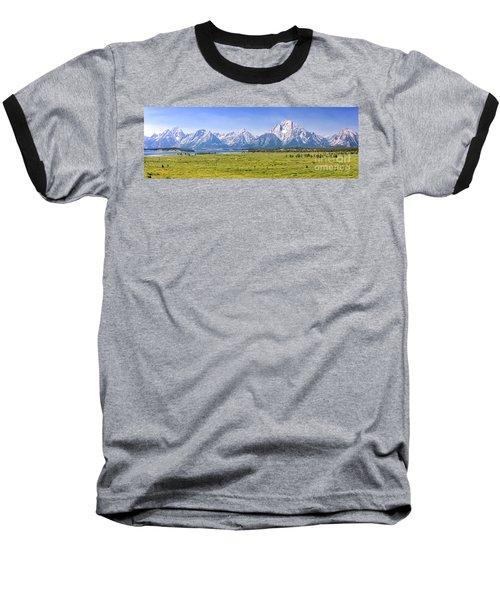 Teton Panorama Baseball T-Shirt