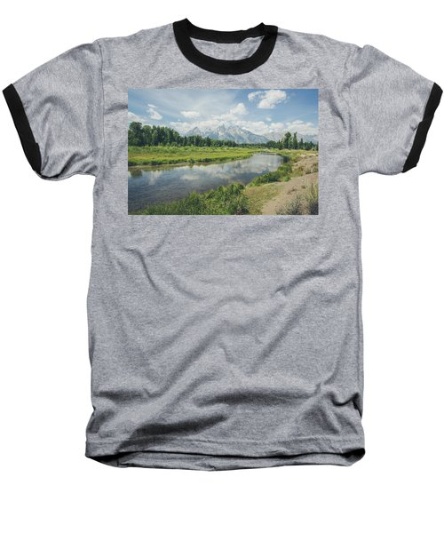 Teton Reflections Baseball T-Shirt