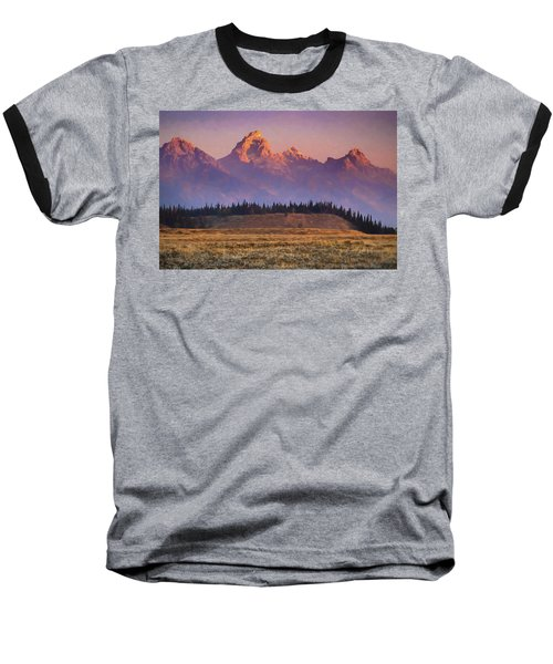 Teton Sunrise Baseball T-Shirt