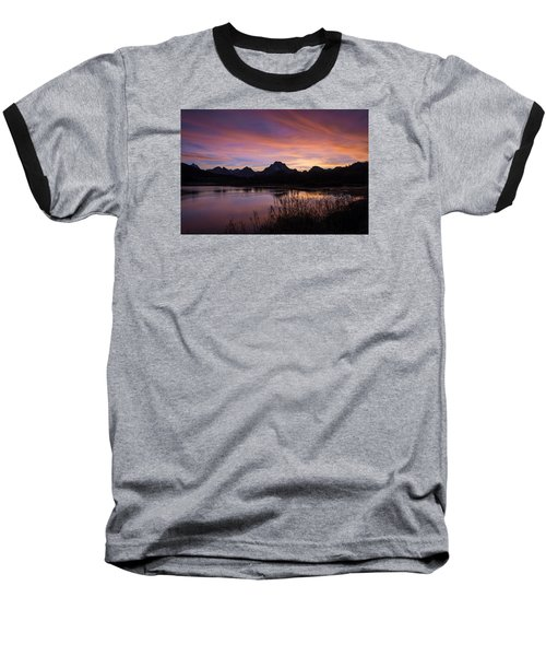 Teton Sunset Baseball T-Shirt