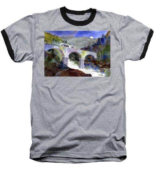 Tevis Crossing 3am Baseball T-Shirt