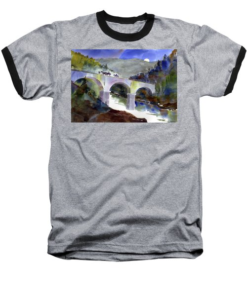Tevis Crossing 3am Baseball T-Shirt