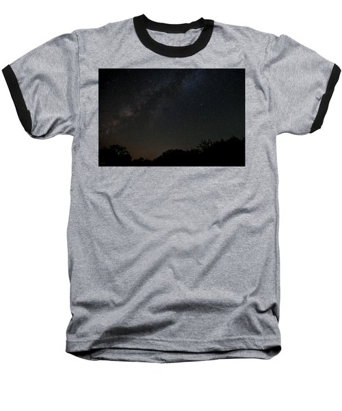 Texas At Night Baseball T-Shirt