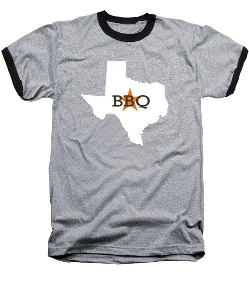 Texas Bbq Baseball T-Shirt