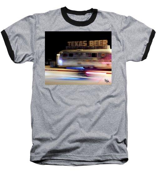 Texas Beer Fast Motorcycle #5594 Baseball T-Shirt