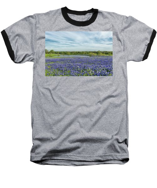 Texas Bluebonnets 13 Baseball T-Shirt