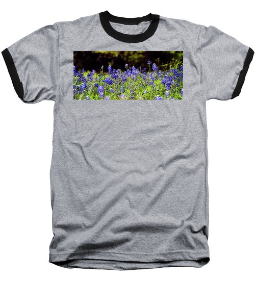 Texas Bluebonnets IIi Baseball T-Shirt by Greg Reed