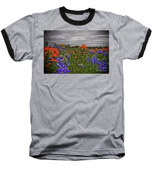 Texas Bluebonnets Baseball T-Shirt