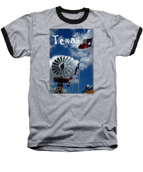 Baseball T-Shirt featuring the photograph Texas by Bob Pardue