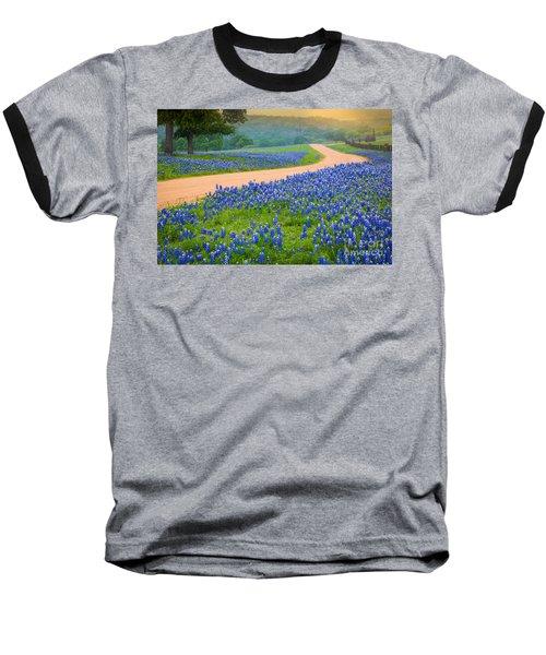 Texas Country Road Baseball T-Shirt