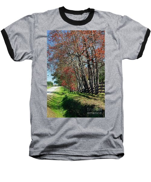 Texas Fall Baseball T-Shirt by Lori Mellen-Pagliaro