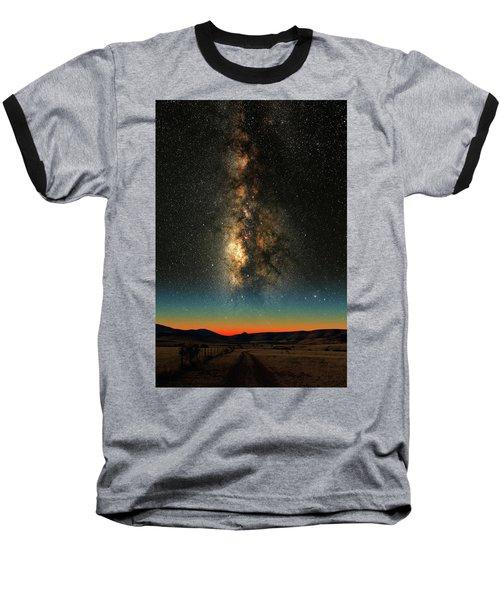 Texas Milky Way Baseball T-Shirt