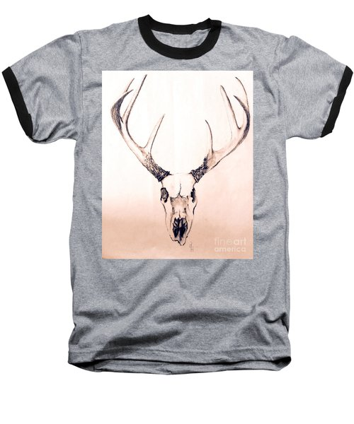 Texas Mount Deer Baseball T-Shirt
