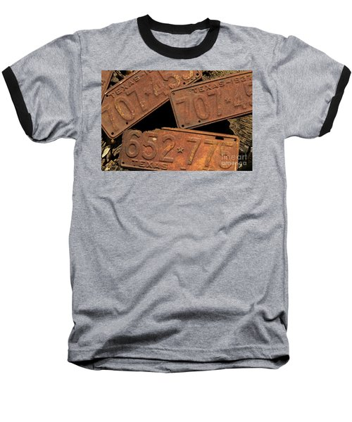 Texas Plates Baseball T-Shirt