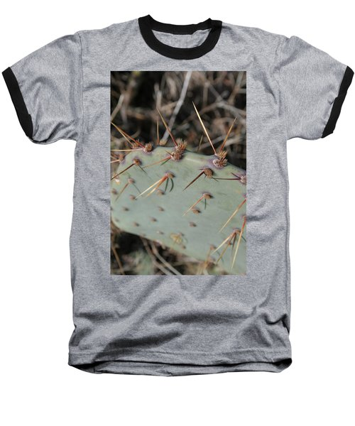 Baseball T-Shirt featuring the photograph Texas Spikes by Laddie Halupa