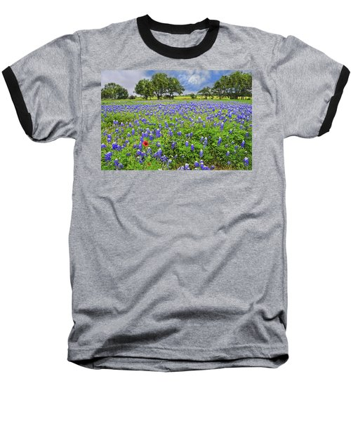 Texas Spring  Baseball T-Shirt by Lynn Bauer