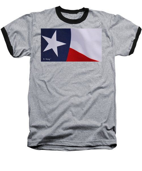 Texas Star Baseball T-Shirt