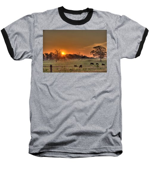 Texas Sunrise Baseball T-Shirt