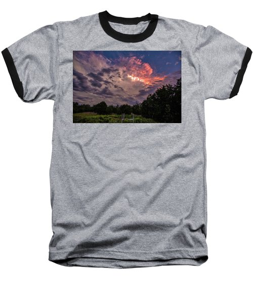 Texas Sunset Baseball T-Shirt