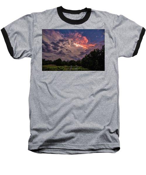 Texas Sunset Baseball T-Shirt