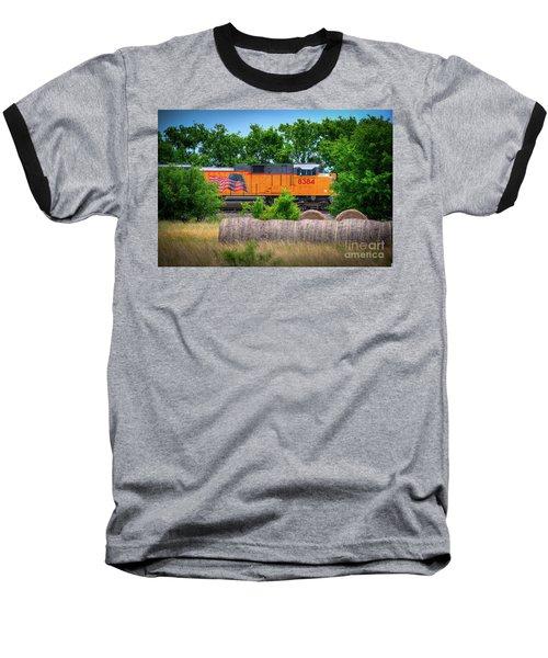Texas Train Baseball T-Shirt