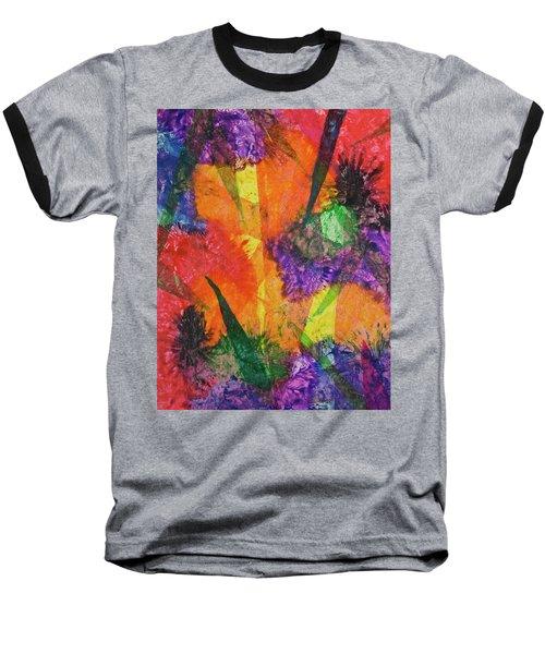 Texture Garden Baseball T-Shirt